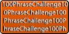 100PhraseChallenge
