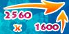 2560X1600
