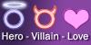 Hero-Villain-Love