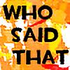 who-said-that's avatar