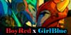 :iconboyred-and-girlblue: