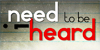 :iconi-need-to-be-heard: