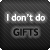 :iconnogifts: