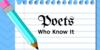 :iconpoets-who-know-it: