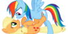 :iconrainbowdashapplejack: