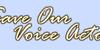 :iconsaveourvoiceactors: